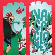 Coleccionismo Marcapáginas: MARCAPÁGINAS - LOTERIA NACIONAL. Lote 278157678
