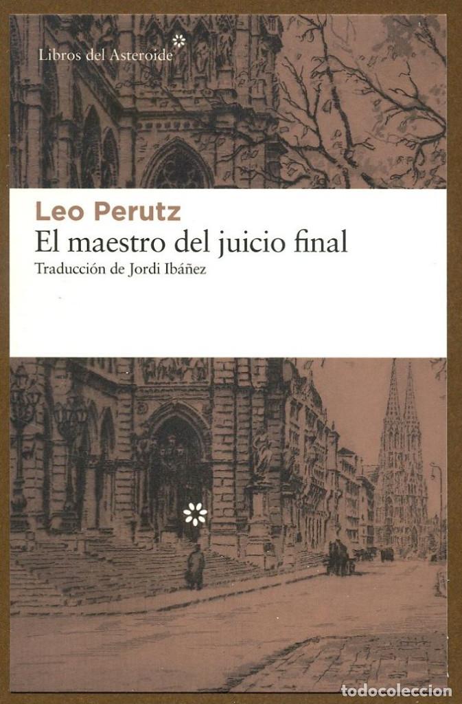 MARCAPAGINAS POSTAL LIBROS DEL ASTEROIDE EL MAESTRO DEL JUICIO FINAL (Coleccionismo - Marcapáginas)