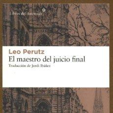 Collectionnisme Marque-pages: MARCAPAGINAS POSTAL LIBROS DEL ASTEROIDE EL MAESTRO DEL JUICIO FINAL. Lote 245378745