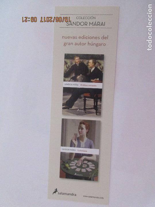 MARCAPÁGINAS EDITORIAL SALAMANDRA (Coleccionismo - Marcapáginas)