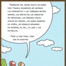 Coleccionismo Marcapáginas: MARCAPÁGINAS - POSTAL EDI. SALAMANDRA VINCENT. Lote 132993946