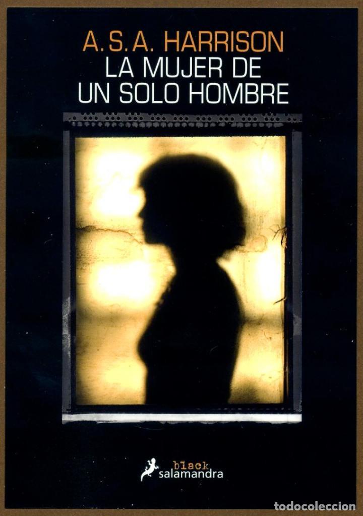 MARCAPÁGINAS - POSTAL EDI. SALAMANDRA LA MUJER DE UN SOLO HOMBRE (Coleccionismo - Marcapáginas)