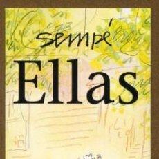 Coleccionismo Marcapáginas: MARCAPAGINAS EDITORIAL NORMA - ELLAS. Lote 224787160