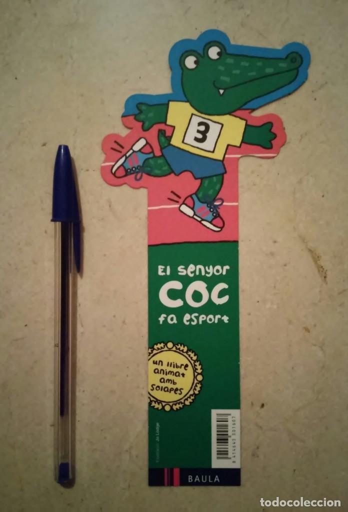 PUNTO LIBRO ORIGINAL - EL SENYOR COC FA ESPORT - FAUNA - COCODRILO