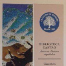 Coleccionismo Marcapáginas: MARCAPÁGINAS EDITORIAL:FUNACION JOSE ANTONIO DE CASTRO.. Lote 95835899