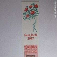 Coleccionismo Marcapáginas: MARCÀGINAS SANT JORDI. Lote 135998354