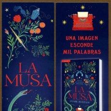 Coleccionismo Marcapáginas: MARCAPÁGINAS – EDITORIAL SALAMANDRA LA MUSA. Lote 106579192