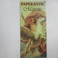 Coleccionismo Marcapáginas: MARCAPÁGINAS PAPERANTIC MAJESTIC EN CATALAN NOVIEMBRE 2.012. Lote 98022255