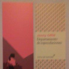 Coleccionismo Marcapáginas: MARCAPÁGINAS EDITORIAL:LIBROS DEL ASTEROIDE.DEPARTAMENTO DE ESPECULACIONES.. Lote 98808016