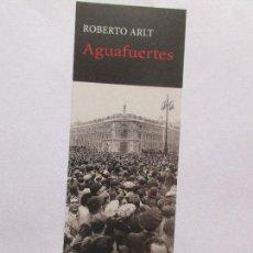 Coleccionismo Marcapáginas: MARCAPÁGINAS EDITORIAL HERMIDA AGUAFUERTES. Lote 269986413
