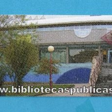Coleccionismo Marcapáginas: MARCAPÁGINAS DE ASTURIAS BIBLIOTECA DE LUANCO . Lote 99641803