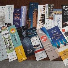 Coleccionismo Marcapáginas: LOTE DE 20 PUNTOS DE LIBRO, MARCAPÁGINCAS.. Lote 102662384