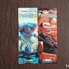Coleccionismo Marcapáginas: LOTE DE 2 PUNTOS DE LIBRO DE EDITORIAL HIDRA DE PESADILLAS. Lote 100176899