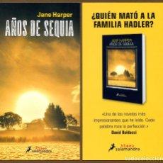 Coleccionismo Marcapáginas: MARCAPÁGINAS - POSTAL EDI. SALAMANDRA AÑOS DE SEQUIA. Lote 132993873