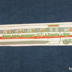 Coleccionismo Marcapáginas: MARCAPÁGINAS TROQUELADO ESTACIONES COMERCIALES RENFE. Lote 135320165