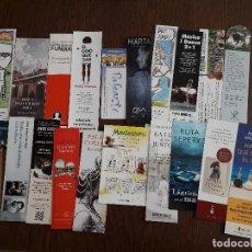 Coleccionismo Marcapáginas: LOTE DE 20 PUNTOS DE LIBRO, MARCAPÁGINAS.. Lote 103082555