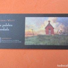 Coleccionismo Marcapáginas: MARCAPÁGINAS EDITORIAL IMPEDIMENTA LA PALABRA HEREDADA . Lote 133903757