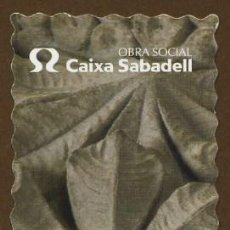 Coleccionismo Marcapáginas: MARCAPÁGINAS – CAIXA SABADELL 2005 . Lote 106170543