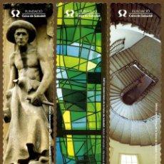 Coleccionismo Marcapáginas: 3 MARCAPÁGINAS MODERNISTAS – CAIXA SABADELL. Lote 106171127