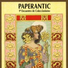 Coleccionismo Marcapáginas: POSTAL - PAPERANTIC PRIMER - BARCELONA 2003 CAST.. Lote 130412172