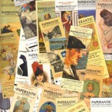 Coleccionismo Marcapáginas: 35 MARCAPAGINAS PAPERANTIC. Lote 148098340