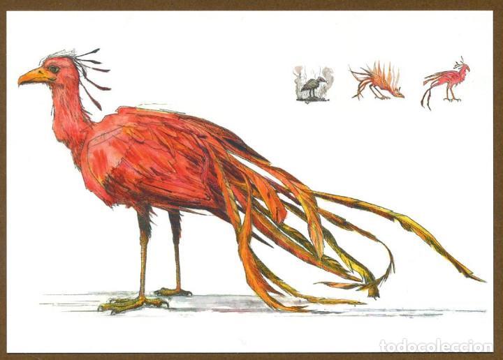 Coleccionismo Marcapáginas: 8 Marcapáginas POSTAL SALAMANDRA ANIMALES FANTASTICOS - Foto 3 - 132336759