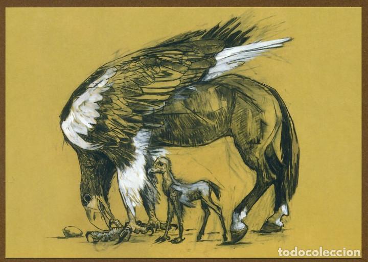 Coleccionismo Marcapáginas: 8 Marcapáginas POSTAL SALAMANDRA ANIMALES FANTASTICOS - Foto 6 - 132336759