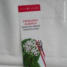 Coleccionismo Marcapáginas: MRCAPAGINAS - TEMAS DE HOY - NUESTRA MENTE MARAVILLOSA - ARBOL FLORA. Lote 108924219