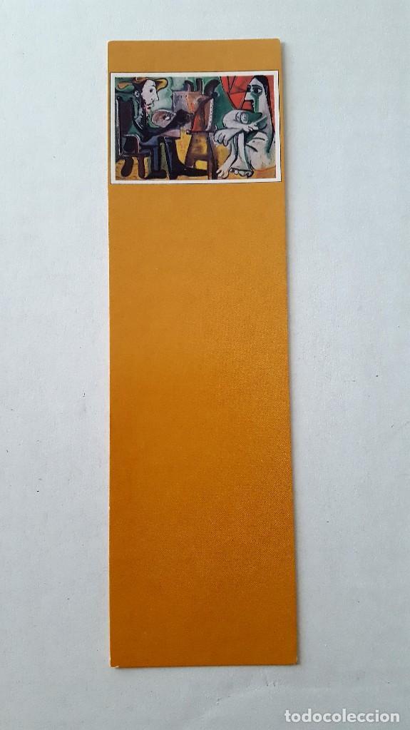 MARCAPÁGINAS PICASSO. EL PINTOR Y LA MODELO. COMPLETE SU COLECCIÓN (Coleccionismo - Marcapáginas)