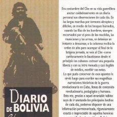Coleccionismo Marcapáginas: MARCAPAGINAS TXALAPARTA. DIARIO DE BOLIVIA. CHE GUEVARA. Lote 110231443