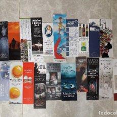 Coleccionismo Marcapáginas: LOTE DE 20 PUNTOS DE LIBRO, MARCAPÁGINAS DE PUBLICIDAD Y EDITORIALES.. Lote 111291227