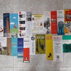 Coleccionismo Marcapáginas: LOTE DE 20 PUNTOS DE LIBRO, MARCAPÁGINAS DE PUBLICIDAD Y EDITORIALES.. Lote 111291319