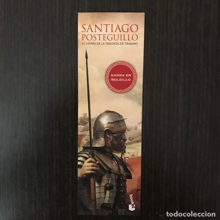 MARCAPÁGINAS - LA LEGIÓN PERDIDA, SANTIAGO POSTEGUILLO. (Coleccionismo - Marcapáginas)
