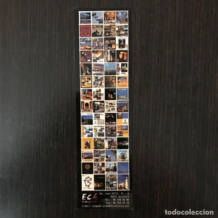 MARCAPÁGINAS - JAÉN, CALENDARIO 2003. ECA PUBLICIDAD (Coleccionismo - Marcapáginas)