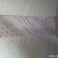 Coleccionismo Marcapáginas: ANTIGUO Y BONITO MARCAPAGINAS RELIGIOSO CON FRASE DE LA VENERABLE MADRE BARAT. Lote 114167227