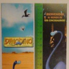 Coleccionismo Marcapáginas: MARCAPÁGINAS EDITORIAL BEASCOA.DINODINO.. Lote 114688835