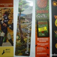 Coleccionismo Marcapáginas: LOTE MARCAPAGINAS VARIADAS. Lote 115471059