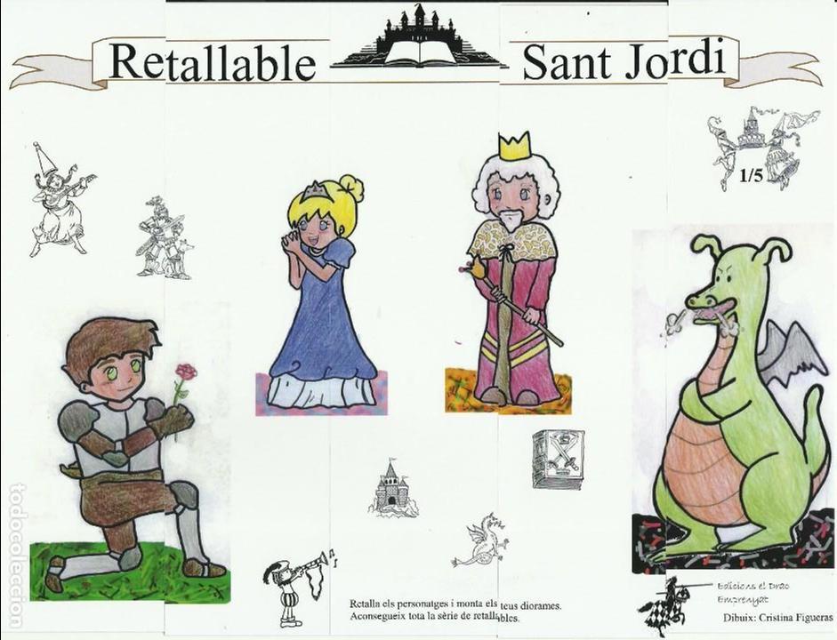 MARCAPÁGINAS PUZZLE SANT JORI EL TROC 2.010 (Coleccionismo - Marcapáginas)
