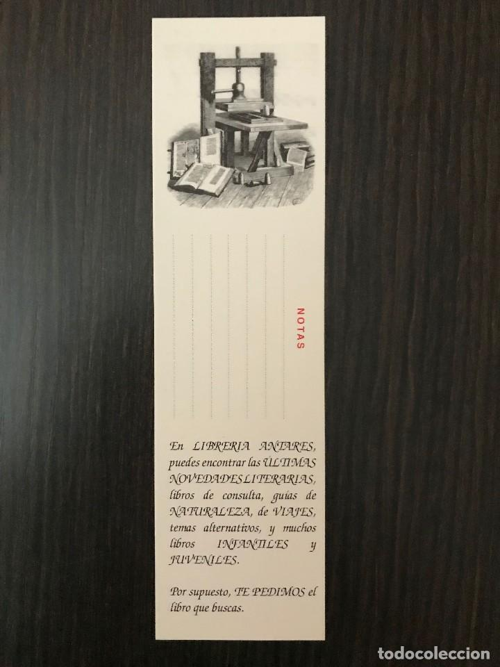 Coleccionismo Marcapáginas: MARCAPÁGINAS - Antares 2013, con calendario - Foto 2 - 117249551
