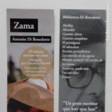 Coleccionismo Marcapáginas: MARCAPÁGINAS EDITORIAL AH.ZAMA.. Lote 156893918