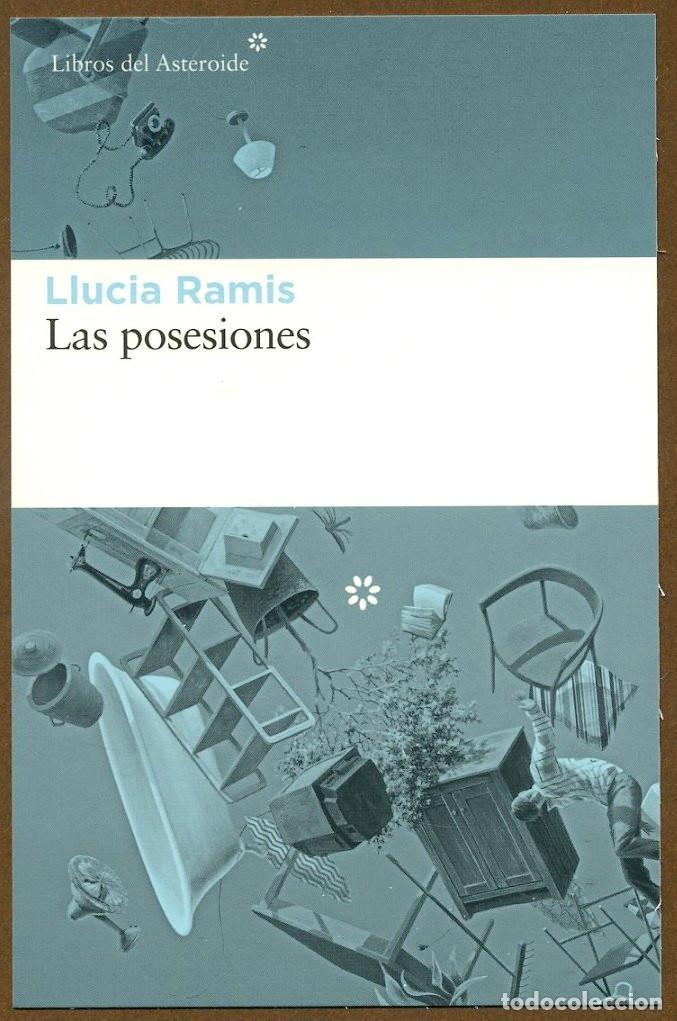 MARCAPAGINAS POSTAL LIBROS DEL ASTEROIDE LAS POSESIONES (Coleccionismo - Marcapáginas)