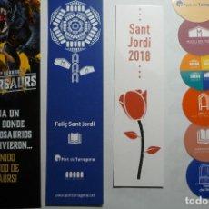 Coleccionismo Marcapáginas: LOTE MARCAPAGINAS VARIADOS. Lote 120884383