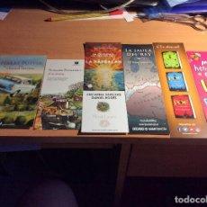 Coleccionismo Marcapáginas: LOTE SEIS MARCAPAGINAS DE DISTINTAS EDITORIALES GRAN FORMATO. LOT. 03. Lote 121551743