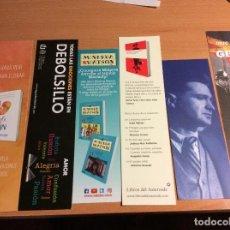 Coleccionismo Marcapáginas: LOTE DE SEIS MARCAPAGINAS DE DISTINTAS EDITORIALES. LOT. 06. Lote 121552703