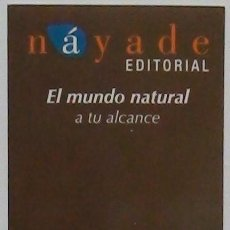 Coleccionismo Marcapáginas: MARCAPÁGINAS EDITORIAL NAYADE. Lote 195166395