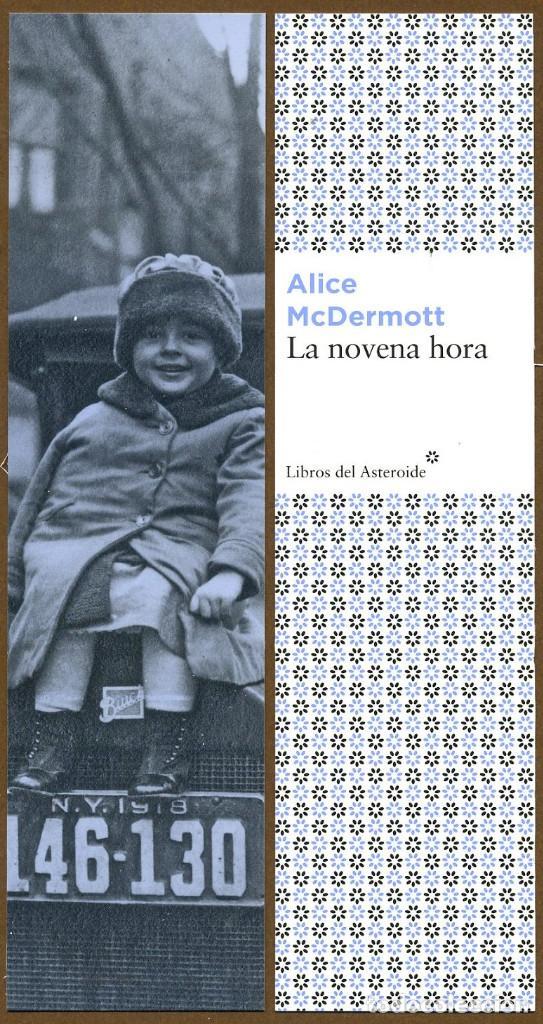 MARCAPÁGINAS EDITORIAL - LIBROS DEL ASTEROIDE LA NOVENA HORA (Collectable Paper - Bookmarks)