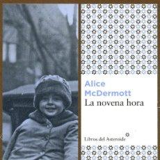 Coleccionismo Marcapáginas: MARCAPÁGINAS EDITORIAL - LIBROS DEL ASTEROIDE LA NOVENA HORA. Lote 195423052