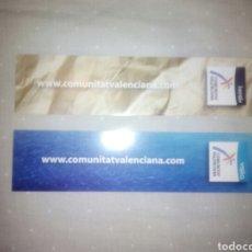 Coleccionismo Marcapáginas: MARCAPAGINAS COM. VALENCIANA. Lote 124655095