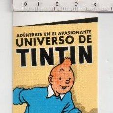 Coleccionismo Marcapáginas: MARCAPÁGINAS DE EDICIÓN DE NORMA UNIVERSO DE TINTIN . Lote 128140675