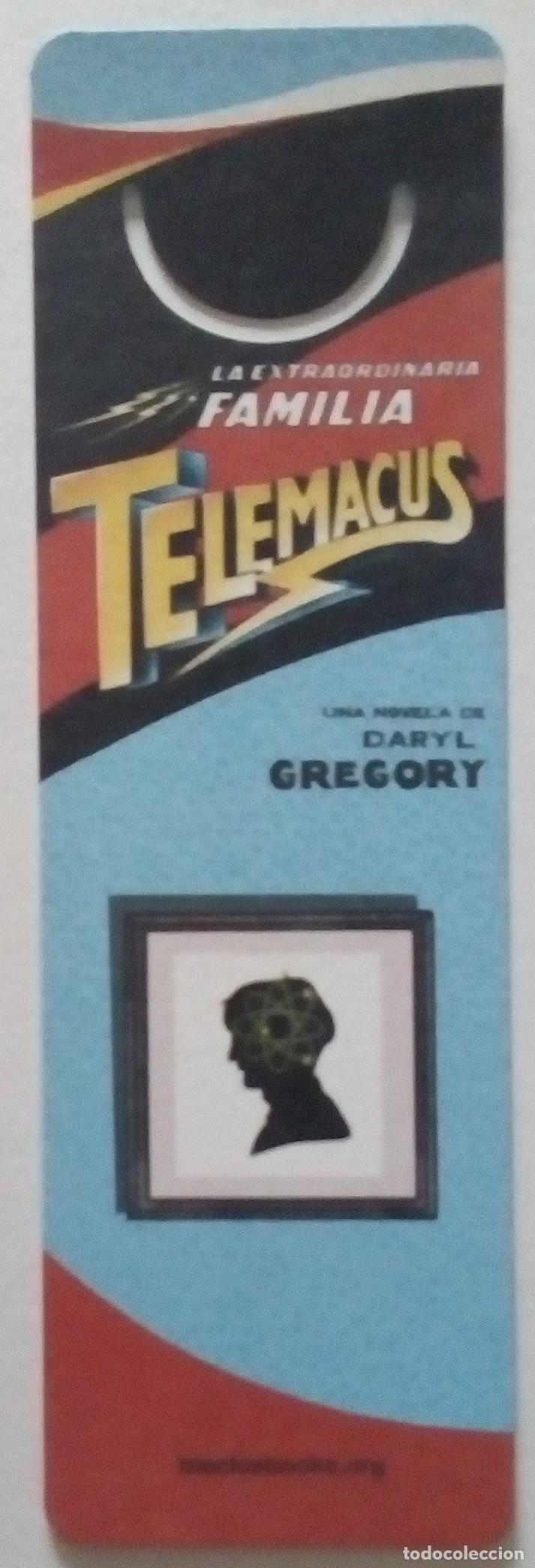 MARCAPÁGINAS EDITORIAL BLACKIE BOOKS.G.LA EXTRAORDINARIA FAMILIA TELEMACUS.